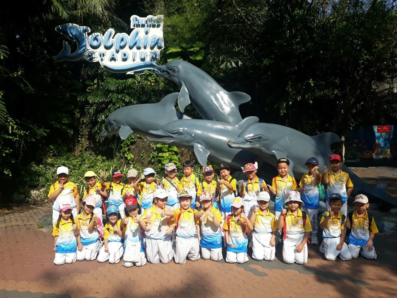 Tuesday 5th of November,2019 152 kindergarten3 students and 16 teachers went on a field trip at Safari World Zoo, Bangkok