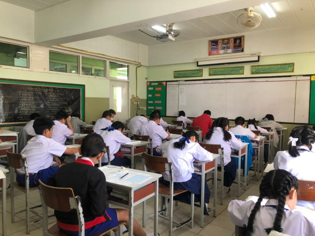 385 students of  grade 2-6 ,took Science and Maths (TEDET) exam of 2019